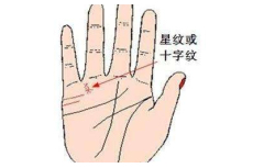 小指上有十字纹是什么情况
