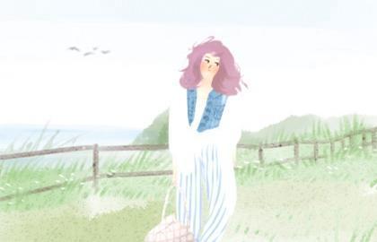 八字算命:八字金白水清的女人